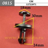 15733971 - Автокрепеж для GM