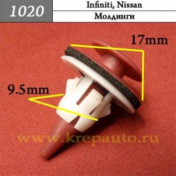 Автокрепеж для Infiniti, Nissan