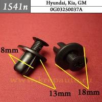 0G03250037A (0G032-50037-A) - Автокрепеж для GM, Hyundai, Kia