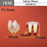 128100111 - Автокрепеж для Infiniti, Nissan