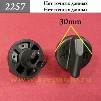 2257 - Автокрепеж для иномарок