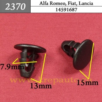 14591687 - Автокрепеж для Alfa Romeo, Fiat, Lancia