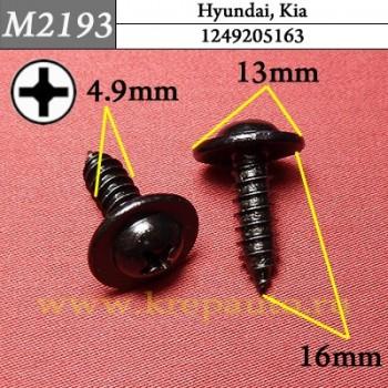 1249205163 - Автокрепеж для Hyundai, Kia