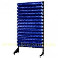 StoykaOdnostBlue - Стойка 1,8м. с лотками односторонняя синяя