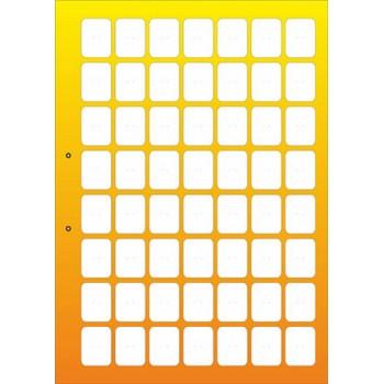 stendbookyellowodnost - Жёлтый лист книги для автокрепежа односторонний